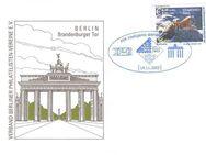 """PIN AG: MiNr. 27 I, 14.11.2003, """"Zoo und Tierpark, Berlin: Sibirischer Tiger"""", Wert zu 0,48 EUR, Sonderbeleg, Sondertstempel """"IBB 2003"""" - Brandenburg (Havel)"""