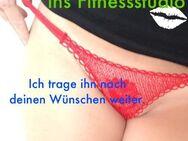 Fetisch veredelte getragene Wäsche - roter knapper String - Nürnberg Zentrum