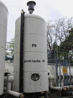 P6 gebrauchter 10.000 L Edelstahltank V2A V4A isoliert stehend Heizspirale Glycerin-Tank - Nordhorn