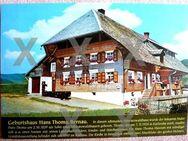 Alte Ansichtskarte- Geburtshaus des Malers Hans Thoma - Niederfischbach