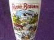 Bierkrug Krug Rosen Brauerei Kaufbeuren Weißbier - Regenstauf