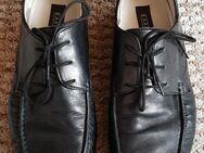 schwarze Business-Schuhe für Herren Gr.41 - Königswinter Zentrum
