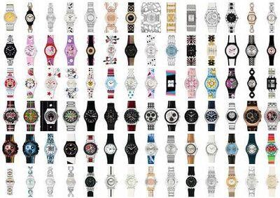 Ankauf Swatch Uhren und Sammlungen, von 1983 bis 2010 - Frankfurt (Main)