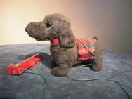 Ferngesteuerter Hund um 1975 / elektrischer Spielzeug Hund / Restaurationsobjekt