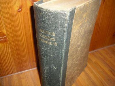 Lateinisch-deutsches Schulwörterbuch v. F.A. Heinichen, Teubner Verlag Leipzig 1875 - Rosenheim