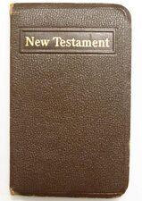 The New Testament. (Taschenausgabe, Englisch)