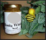 Honig Whisky Senf   - halbgrob süß rauchig  100 ml