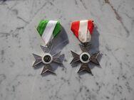 Orden zum Jubiläum für treue Mitgliedschaft 10+30 Jubiläumsorden Kreuz silberfarben je 4,- - Flensburg