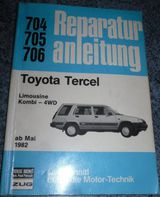 Reparaturanleitung Toyota Tercel Limousine + Kombi 4 WD