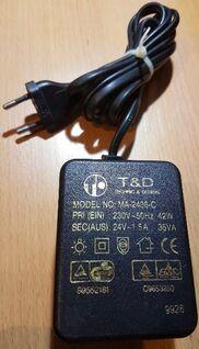 Trafo, Netzteil, T&D MA-2436-C Adaptor, Indoor - Verden (Aller)