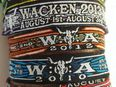 Wacken Festival WOA Bändchen Wristband Open Air 2019 Band 8 in 31582