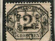 AD-NDP-Dienstmarke 2 Gr.,1870,MI:DE 5,  Lot 548