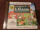 Lernsoftware 2.Klasse /PC CD-ROM / Deutsch,Rechnen,Übungen,Spiele
