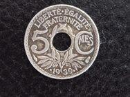 Münze 5 Centimes Frankreich 1939 - Münster