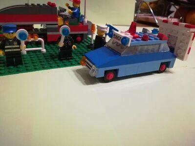 Lego Straßenbaustelle - Hamburg