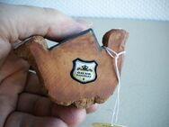 Gilde-Teddy,Keramik,Handarbeit,Alt,ca. 7,5 cm - Linnich