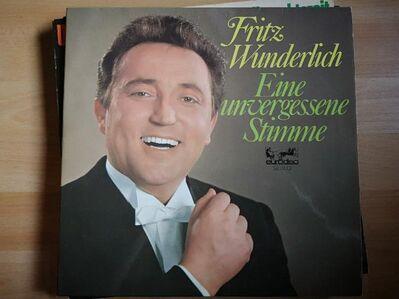 Fritz Wunderlich - Eine vergessene Stimme - LP Vinyl - Plettenberg Zentrum