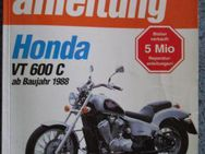 Reparaturanleitung HONDA VT 600 C - Custom in deutsch ! - Bochum Goldhamme