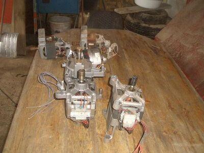 6 Verschiedene waschmaschienenmotoren - Kassel Niederzwehren