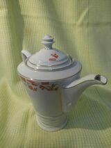 Antike Hutschenreuther Arzberg Kaffeekanne / Kanne Art Deco / Porzellan Sammler