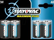 Alkaline Maximum Plus Batterie C Baby, Rayovac, neu,OVP