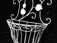 Blumenkorb Höhe 37 cm / Wandkorb Shabby Chic / Antik Stil / Dekoration / NEU - Zeuthen