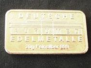 Silberbarren Sammler 20 Gramm Aurumed Selten Silber 999 - Bottrop