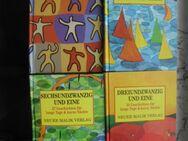 Geschichten für lange Tage&kurze Nächte Neuer Malik Verlag Hardcover Literatur Weltliteratur Lesebücher 4 Bücher zus. 7,- - Flensburg