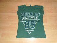 T-Shirt von Atmosphere, dunkelgrün mit Motiv, Gr. 176
