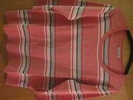"Gr. 44: Pullover, rosa/pink/weiß gestreift ""apriori"" + Gr. 44: Top, pink, ""apriori"" - München"