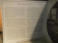 KAHLA Porzellan Sammelteller Am Kachelofen mit Zertifikat + Beschreibung, 1994 - Zeuthen