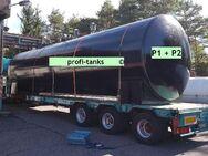 P1 gebrauchter 30.000 L Stahltank Wassertank Gülletank Jauchetank doppelwandig DIN 6616D