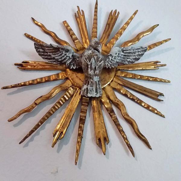 Trinität Wand-Skulptur antik Kapelle Kirche Altar Jesus Christus Heilig Kloster Kreuz - Nürnberg