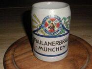 Bierkrug Paulaner Brauerei München Alt Farbig 1/2 Liter - Bottrop