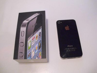 iPhone 4 Black 8GB OVP - Saarbrücken