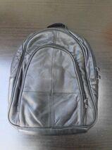 Leder Rucksack Damen Tasche schwarz Echtleder Handtasche 12,-