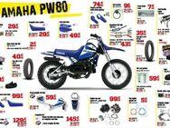 Yamaha PW 80 Verschleissteile + Ersatzteile Direktimport - Eschershausen