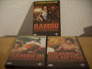 Rambo I - III Erstauflage UNCUT ohne Flaschten Sammlerversion Fehlerfrei Version - Kassel