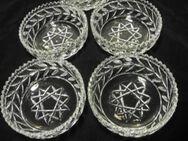 Walther Glas 5 Schalen 14 cm mit Stern Dessertschalen Schälchen zus. 9,- - Flensburg