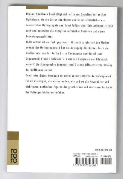 Antike Mythologie Ein Handbuch der Mythos und seine Überlieferung in Literatur und bildender Kunst - Lücke - Nürnberg
