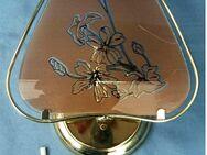 Wandleuchte aus Metall / getöntem Dekor-Glas von Emme Pi Light Italy - Groß Gerau
