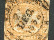 AD-Württemberg 3 Kreuzer,1857,MI:DE 7,  Lot 554