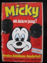 Micky - 40 Jahre Jung (Micky Maus Jubiläumsheft) von 1970