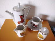 Kaffee- und Teeservice aus Porzellan für die Puppenstube - Merkelbach