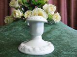 Rosenthal CLASSIC Maria Weiß Kerzenhalter / Porzellan Kerzenständer / Rarität