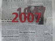 """Fundstück: Sonderausgabe """"60 Jahre Offenbach-Post"""" - Frankfurt (Main) Sachsenhausen-Süd"""