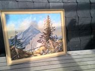 Ölbild auf Leinwand (Landschaft) - Fehmarn