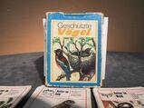 DDR Lehrquartett Geschützte Vögel / Spiel ab 10 Jahre, Pössneck Verlag 1982