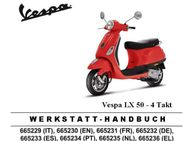 Vespa LX 50 4 T. Werkstatthandbuch - Bochum
