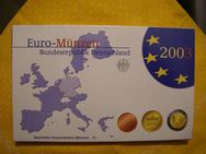 Deutschland Euro-Kursmünzsatz PP, 1ct-2€,2003-D,Lot 334